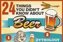 Infográficos sobre Cerveja / Informações e curiosidades sobre cerveja em infográficos de todos os tipos. / by Ricardo Sangion