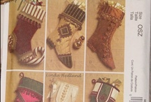 Christmas Sewing and Craft Patterns / by Victorian Rose Inc ♥ Lori Harris