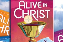 Alive in Christ  / Alive in Christ is a theologically comprehensive, developmentally appropriate religion curriculum that focuses on the life, mission, and saving work of Jesus Christ. The presentation of the Catholic faith in precise theological language is coupled with an emphasis on Catholic practices, images, and models of faith,  to build a vibrant Catholic identity. Parish Edition for Grades 1-6 (Available Fall 2013) School Edition for Grades 1-8 (Available Fall 2014) / by Our Sunday Visitor Curriculum Division