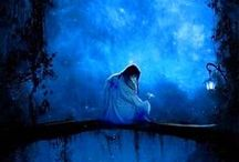 Cobalt/Royal Blues / by Lety Maddix