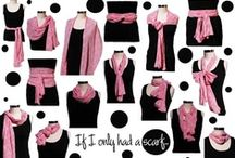 Ways to Tie Scarves / by Claudia Souto