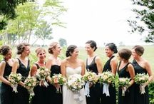 Black Bridesmaid Dresses / Looking for a bridesmaid dress color you can be sure your friends will wear again and again? Go for that little black dress! Black bridesmaid dresses are versatile and gorgeous! / by Dessy Group