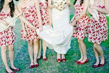 Printed Bridesmaid Dresses  / Printed bridesmaid dresses add that something special to your wedding day. Unique and pretty from flowers to polka dots, enjoy this great selection of patterned dresses that will add some great color to your Big Day! / by Dessy Group