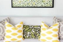 Designer Home Decor / #ThomasPaul #PremierPrints #AmyButler #Waverly / by Fabric.com
