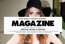 Cover Type Magazine / Editorial Fonts bringen Professionalität wie Schwung in Titel und Innenteil von Zeitschriften. / by FontShop Deutschland