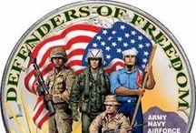 America - ♥♥♥ - Our Hero's / by Debbie Cross-Ellis
