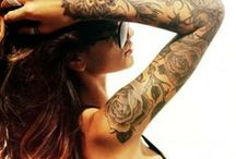 All About the Tattoos  / by Olivia Williams