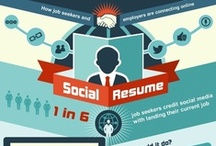 Career Related Infographics / Fun infographics that deal with the workplace and career development / by hiredMYway.com