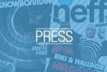 NEFF IN PRESS / A peak inside to what the press had to say about Neff Headwear. / by Neff Headwear