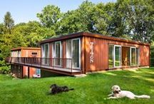 Shipping Container Homes / by Morgan Shanahan