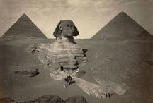 HISTORY : EGYPT / Pyramids + Shrines + Temples + The Sphinx / by Reece Bivens