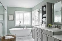 Home {Bathroom} / Bathrooms to inspire... / by Sandra {Simple is Pretty}