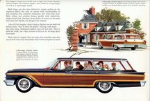 AUTOMOBILES : Station Wagons + Trucks / All Makes and Models of Great Utility and Fascination / by Reece Bivens