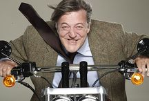 ROLE MODELS : Stephen Fry / by Reece Bivens
