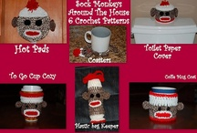 Sock Monkey Inspired Designs / by Cora Shaw