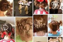 LITTLE GIRLS & BOYS HAIR STYLE / by Janie Sampson