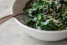 rabbit food / vegan, or dish ideas to veganize / by Laura Urban