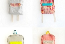 Backpacks and Scarves / by Elizabeth Marshall
