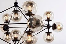lighting / Lamps, Chandeliers, Wall Sconces etc... / by Atomique47