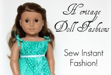 SEW: Doll Clothes / by M Avery Designs