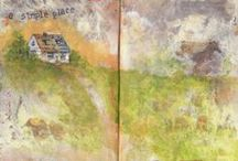 Art Journaling / Pages done in my various art journals. / by Sandra Strait
