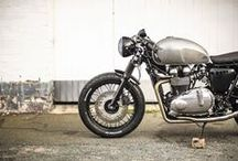 Thiumph & Cafe racer / by Patrick Pierini