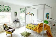 Bedrooms / by Carrie Houghton