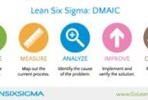 Lean Six Sigma / Fun Lean Six Sigma infographics, tools, temaplates from GoLeanSixSigma.com. / by Karlo Tanjuakio