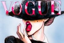 """Vogue / """"You either know fashion or you don't.""""  ― Anna Wintour / by Martina Strong"""