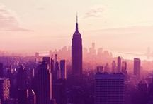 ❤ NYC / by Peach Sathika
