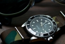 Nice Watches / Handsome Timekeepers / by Christopher Hidajat
