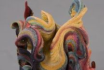 Art I like - Fiber/ soft sculptues / by weildkat art and design.com