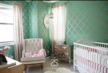 Baby Nursery / Celebrity designer Shalena Smith offers affordable design packages so that everyone can have an amazing space for their baby or child. / by Shalena Smith