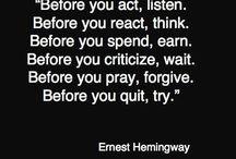 Words of Wisdom / by Tamera Strickland