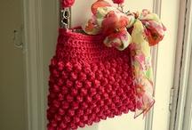 Cro-Shay: Bags & Baskets ♥ crochet / handbags, purses, baskets, pocket books, wallets, iPod covers, cases / by Shay Amburn