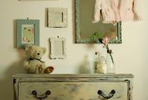 Lilac and Teal Room - ONE / by Painted and Patched