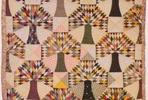 VINTAGE QUILTS / Nothing inspires more than a past quiltmaker's work.  I love to see what they could make without all of the great tools that we have / by Teri B.