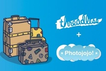 """Threadless + Photojojo, Help Me Pack My Bags! / Wanna travel? We wanna help. We're teaming up (hi-fives galore) and asking you to create a Pinterest board inspired by that trip you keep meaning to take. We'll hook up one lucky pinner with all the supplies needed to snap jealousy inducing travel pics: good lookin' threads and the most awesome photo gear anywhere.   Show us by creating a board called """"Threadless + Photojojo, Help Me Pack My Bags!""""    Full deets → http://threadless.com/photojojo  Our board's destination is Roadtrip USA! / by Photojojo"""