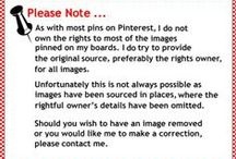 Pin Disclaimer: / by Janice Dryden Adair