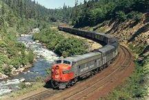 Trains & Railroads / http://worldbesthoteldeals.com / by JRRepiso