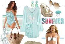 My Moodboards - Beach Fashion  / by Melissah ~ Coastal Style