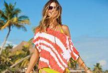 Beach Fashion - Orange / by Melissah ~ Coastal Style