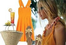 Beach Fashion - Yellow / by Melissah ~ Coastal Style