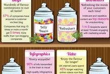 Amazing Infographics / Infographics that you will love. Tons of great information here. / by Michelle Kay