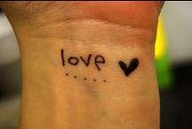 Tattoos. / by Simi Bhaurla
