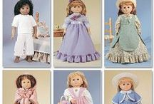 AG Doll Patterns (Clothes, Shoes, Bags) / by Noelle Christine Stewart