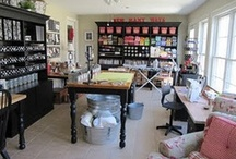 Art Studio / Inspiration for setting up our art workspace. / by Kimmarie Degrange
