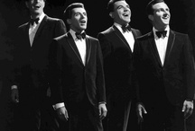 The Four Seasons / The original Four Seasons - Frankie Valli, Tommy De Vito, Nick Massi, and Bob Gaudio - was the most successful American band of the 1960s. / by Joe Hilley