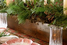 table decor / by L Christine Wehrly