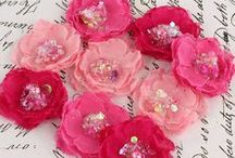 DIY FLOWERS / all about making your own for scrapping! / by Dawn Muscari